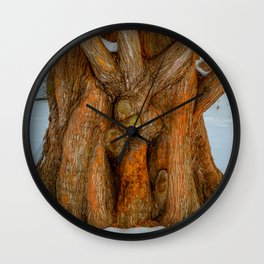 The Embrace by Teresa Thompson Wall Clock