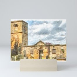 Old Holy Trinity Church, Wentworth Mini Art Print