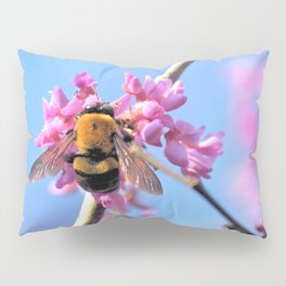 Eastern Redbud And The Bee Pillow Sham