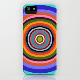 Technicolor dream 002 iPhone Case