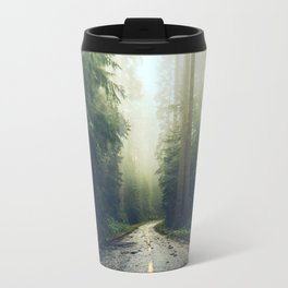 Redwood Forest Adventure - Nature Photography Travel Mug