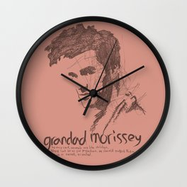 Grandad Moz Wall Clock