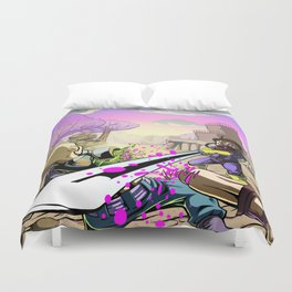 The Outlands Duvet Cover