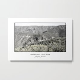 Baviaan Kloof Nature Reserve Metal Print
