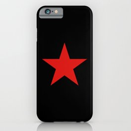Red Star iPhone Case