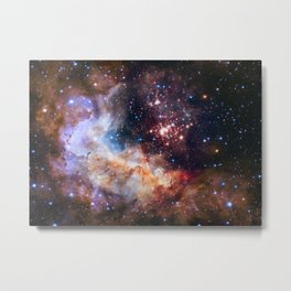 Hubble 25th Anniversary Image Metal Print