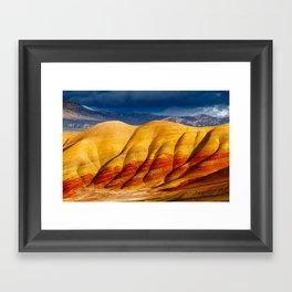 Vivid Hills Framed Art Print