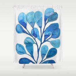 Beach Botanicals II Shower Curtain