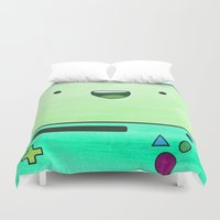 bmo Duvet Covers featuring BMO by Some_Designs