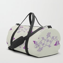 Lady Mary's Floral Vine Duffle Bag