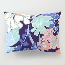 Midnight Jungle Pillow Sham