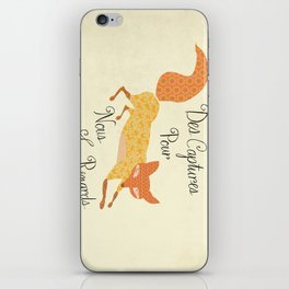 Catch for Us the Foxes iPhone Skin