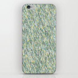 Teal Forest iPhone Skin