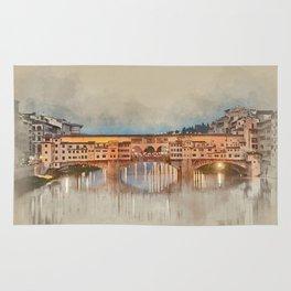Firenze, Ponte Vecchio Rug