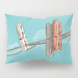 Boho Clothespin Pillow Sham