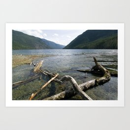 Late Afternoon on the Lake Art Print