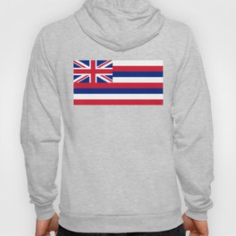 Flag of Hawaii, High Quality image Hoody