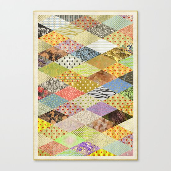 RHOMB SOUP / PATTERN SERIES 002 Canvas Print