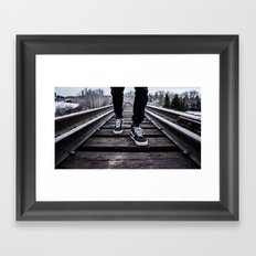 Walk & Nature Framed Art Print