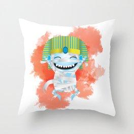 King KiKi Throw Pillow