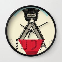 Locals Only - Ciudad de México Wall Clock