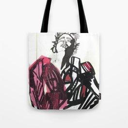 BLACK/WHITE BOY Tote Bag