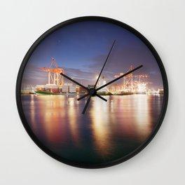 Dublin Port. Wall Clock
