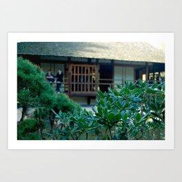 Jardin japonais,zen,Toulouse France Art Print