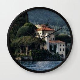 Villa del Balbianello - Lake Como Wall Clock
