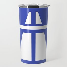 Autobahn Sign Travel Mug