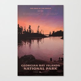 Georgian Bay Islands National Park Canvas Print