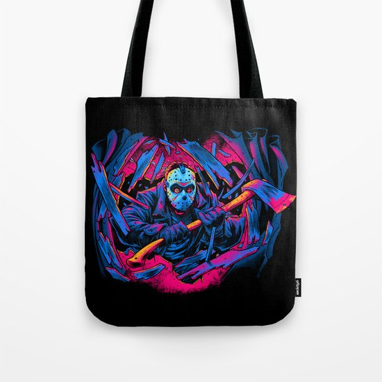FRIDAY THE 13TH: FORCEFUL ENTRY Tote Bag