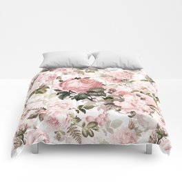 Vintage & Shabby Chic - Sepia Pink Roses  Comforters