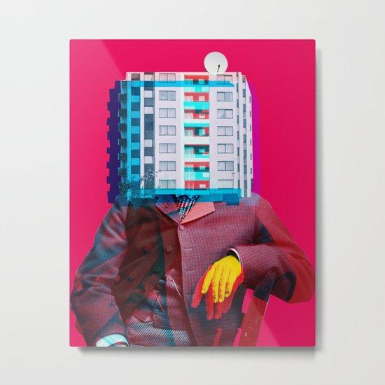 Der Wohnungswirt Metal Print