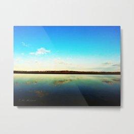 Lake L'Homme Dieu Metal Print