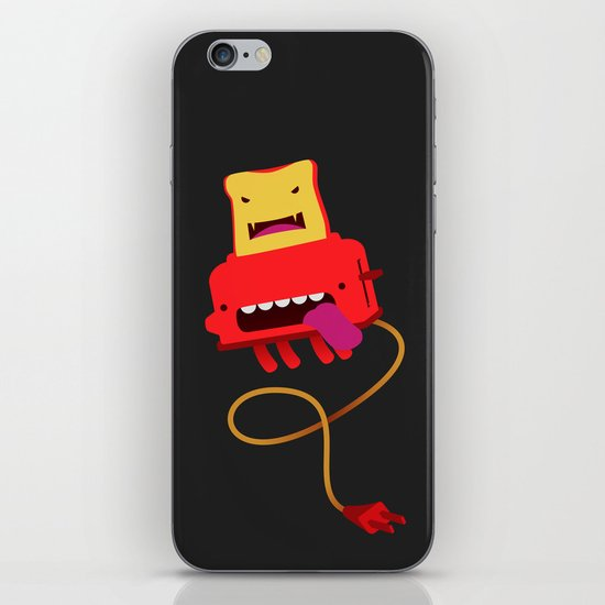 Toast made me do it iPhone Skin