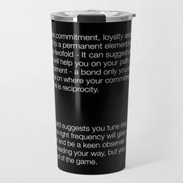 servant -Rebel  Travel Mug