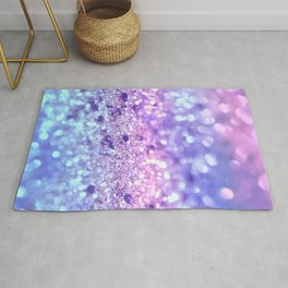 Summer Unicorn Girls Glitter #2 #shiny #pastel #decor #art #society6 Rug