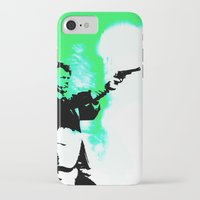 clint barton iPhone & iPod Cases featuring Clint by Fimbis
