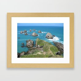 The Catlins Framed Art Print