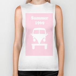 Summer 1969 -  pink Biker Tank