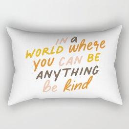 Be Kind Rectangular Pillow
