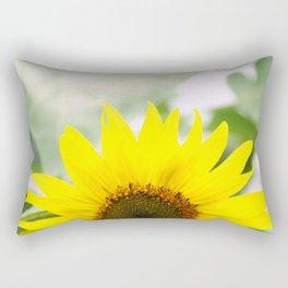 Sunflower in Flushing Rectangular Pillow