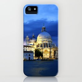 Lightning in Venice iPhone Case