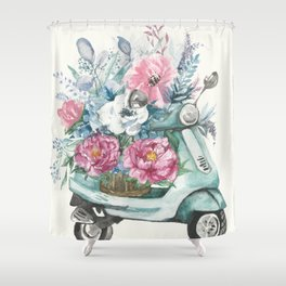 flower delivery Shower Curtain