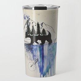 Nature And Shapes Travel Mug
