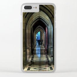 Washington National Cathedral, D.C. Clear iPhone Case
