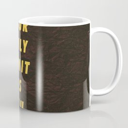 Your only limit is you Motivational Inspirational Sayings Quotes Coffee Mug
