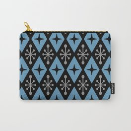 Mid Century Modern Atomic Triangle Pattern 121 Carry-All Pouch