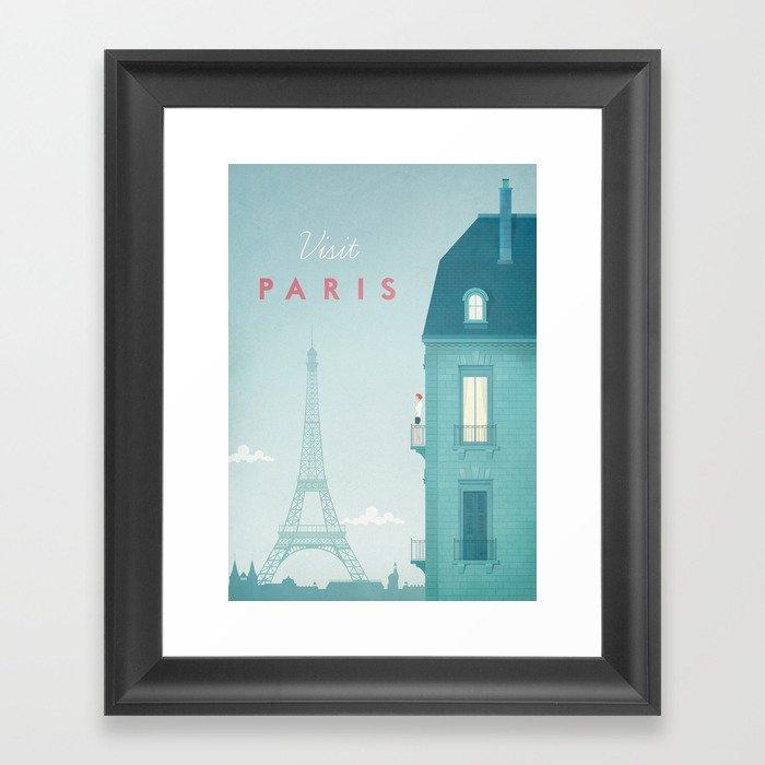 Paris Gerahmter Kunstdruck